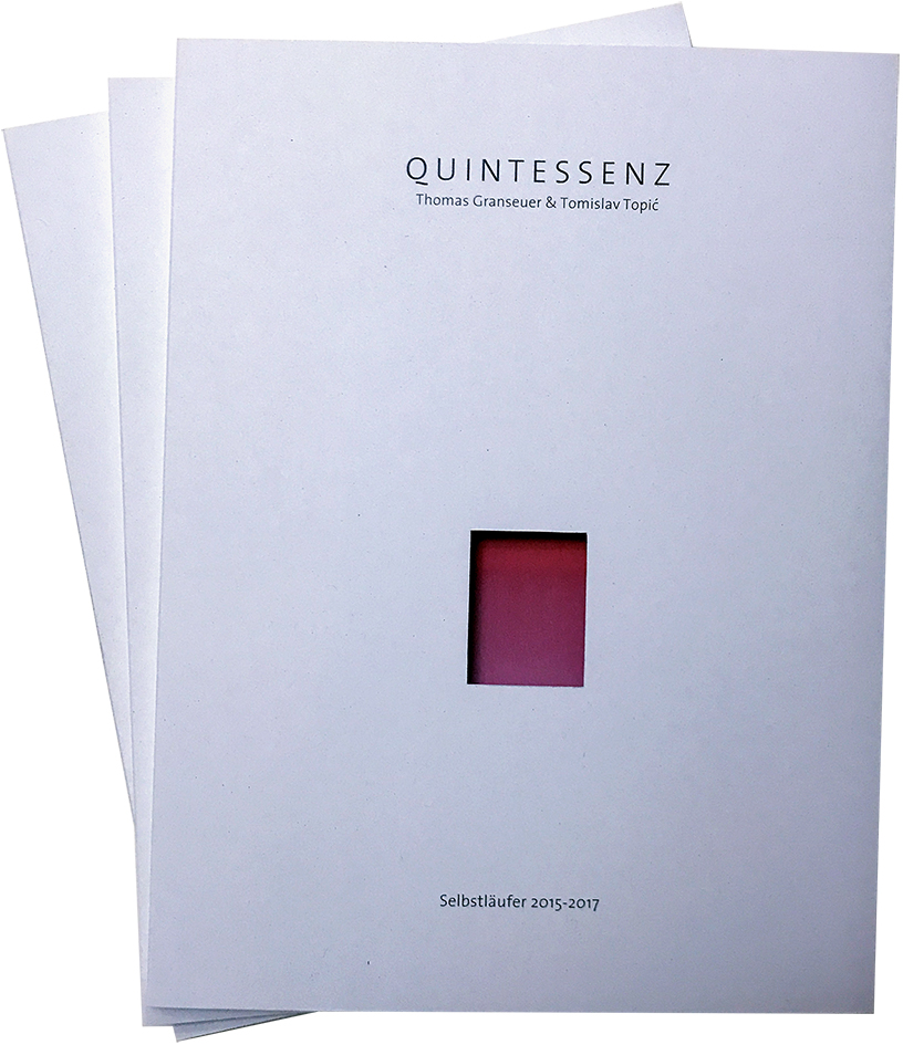 quintessenz katalog - editorial design